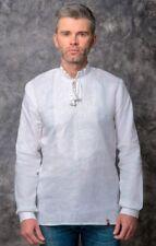 Folk Moda Ukrainian Linen Men's Shirt
