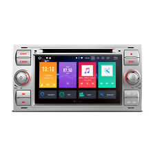 "RADIO DVD GPS LCD TÁCTIL 7"" FORD FOCUS FIESTA SMAX ANDROID 8.0 4GB RAM WIFI HDMI"