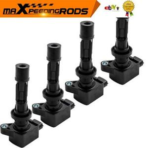 4pc Ignition Coil Packs For Mazda 3 BK 6 CX-7 MX-5 ER  BL 2.3L L3G218100A9U