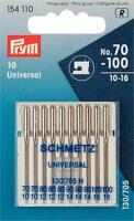 Prym Nähmaschinennadeln Flachkolben 130/705 Standard Stärke 70-100 154110