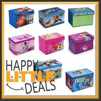 Fabric Toy Box by Delta Children - Mickey/Minnie/Frozen/Cars/TMNT & more!