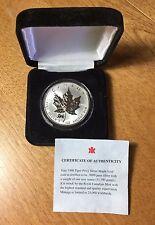 1998 $5 TIGER PRIVY Canadian Silver Maple Leaf CANADA Box & COA
