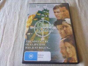 Green Sails (DVD) Region Free  Marcus Graham, Alexandra Paul