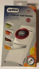 ZYLISS 4 In 1 Adjustable & Collapsible Food Slicer & Grater New Unopened