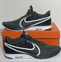 New Nike Zoom Strike 2 Black and White Mens Size 12 Running Shoes AO1912-001