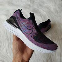 Nike Epic Phantom React Sneakers in Black/University Red Womens Size 7
