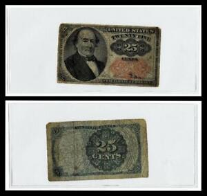1874 25C Cents U.S. Fractional Currency Note