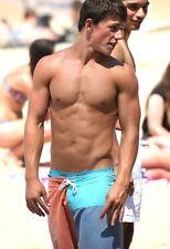 Shirtless Male Beach Boy Jock Muscular Physique Abs V Line PHOTO 4X6 C487