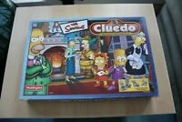 The Simpsons Cluedo Clue Board Game 100% Complete Parker Brothers Pewter Tokens