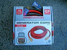 Predator Generator Cord 7500 Watts 30 Amps.Brand new