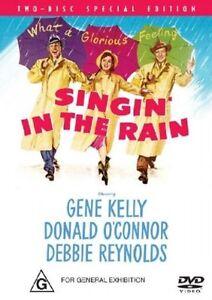 SINGIN' IN THE RAIN DVD - 50th Anniversary GENE KELLY Classic Musical