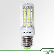 Bombilla LED E27 49 SMD 5050 360º Blanco Cálido 220V - Consumo 9W