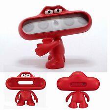 For Beats Pill Wireless Speaker Doll Dude Stand Portable Frog Case Holder Red#bk