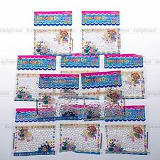 10bags Clear Magic Crystal Mud Soil Water Bead Flower Planting Home Garden Décor