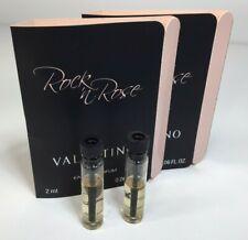 2-PACK Valentino Rock N Rose Eau de Parfum Sample Vials 2ml/.06 fl oz