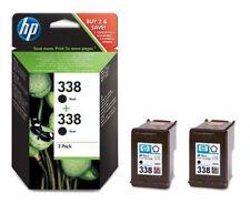 HP Nr. 338 schwarz - 2x Tintenpatrone