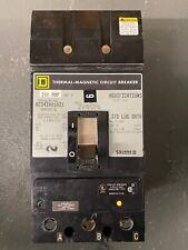 Square D KC342001021 3 pole 200A 480V Shunt trip Circuit Breaker