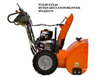 HUSQVARNA 2 STAGE 924HV 208CC SNOW BLOWER WITH ELECTRIC START Model 961930070