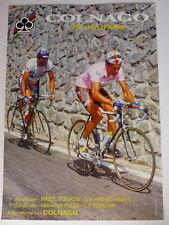 Colnago Poster 79th Giro d' Italia Tonkov & Olano 33x47cm  ORIGINAL 1996 NOS