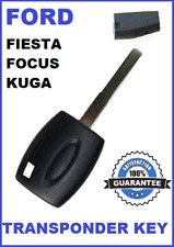 FORD FOCUS FIESTA KUGA TRANSPONDER CAR KEY 2005 2006 2007 2008 2009 2010 - 2014