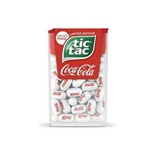 LIMITED EDITION TIC TAC COCA COLA 1 OZ 12 COUNT