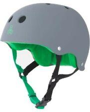 Triple Eight Green And Grey large Helmet skateboarding
