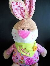 Soft toy Bunny Rabbit OLIVIA embroidered gift  47cm long