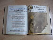 Encuadernación de la revista CIENCIA Y VIAJES mars 1950 a marzo 1952 Nos 51 à 75