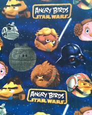 Patchwork Fabric Fleece Angry Birds Star Wars Rebel Leaders 150cm Wide - Per ...
