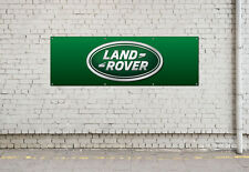 LAND ROVER LOGO workshop, garage, office or showroom pvc banner