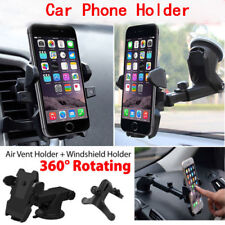 Universal 360° Windshield Mount Car Holder Cradle For GPS Mobile Smart Phone