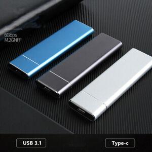 External HDD SSD Type-C USB 3.1 4/6/8TB Portable Mobile Mini Hard Disk Drive