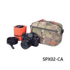 camo Small Soft Padded Camera Equipment Bag Case insert for DSLR sony fuji canon