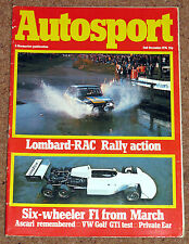 Autosport 2/12/76* RAC RALLY - Grp2 BMW CSL - 1976 CHAMPIONS - ASCARI PROFILE