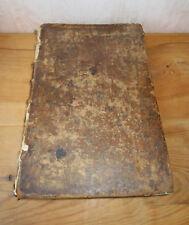 Livre ancien rare La coutume réformée Normandie 1681 Caen Rouen Le Havre Evreux.