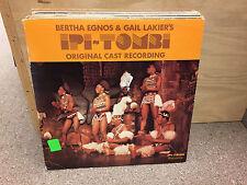 Bertha Egnos & Gail Lakier's Pi-Tombi Original Cast vinyl 2x LP 1978 UK