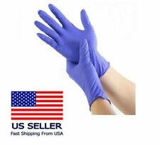 Nitrile - Latex - Vinyl Examination Gloves Powder Free Gloves ALL SIZES + Thick