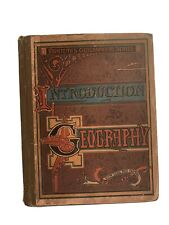 1868 National Geographical Series James Monteith Intro To geography
