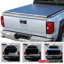 "For 2004-2011 Chevy Colorado GMC Canyon Crew Cab 5ft 60"" TriFold Tonneau Cover"