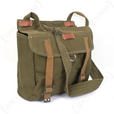 Surplus Romanian Army Bag - Romanian Olive Drab Bread Bag with Strap