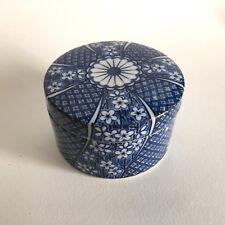 Tiffany & Co Trinket / Box / Japanese porcelain White-Blue Arita / no boxe
