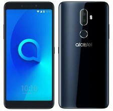 "Alcatel 3V 5099Y 16GB 5MP 5"" LCD Android Mobile Smartphone Black Unlocked.`"