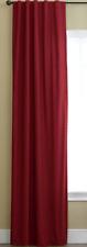 JCP Linden Street Rod-Pocket/Back-Tab Panel Rustic Red 40 X 95
