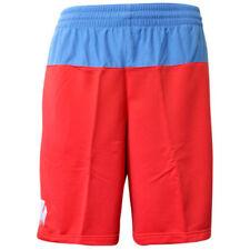 Shorts e bermuda da uomo sport rossi poliestere
