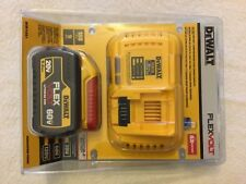 New DeWalt DCB118X1 60V Flexvolt Kit With DCB118 Charger & DCB609 9.0Ah Battery