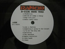 RANCID - B-SIDE RARE TRAX LP OFFSPRING NOFX OPERATION IVY GREEN DAY CLASH PUNK