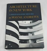 Architecture in New York; Wayne Andrews; First Edition; Architecture