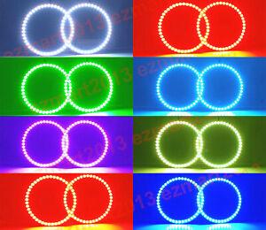 RGB halo ring kit for Subaru Impreza WRX STI 03-18 Demon LED Corona Flash DRL