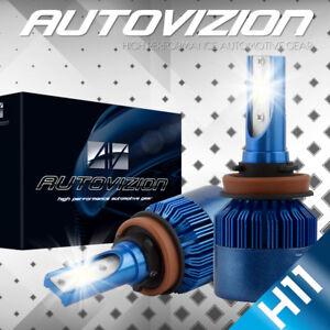 AUTOVIZION LED HID Headlight kit H11 White for 2007-2014 Chevrolet Suburban 1500