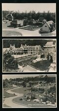 Sussex HASTINGS Model Village x5 c1950/60s? RP PPCs